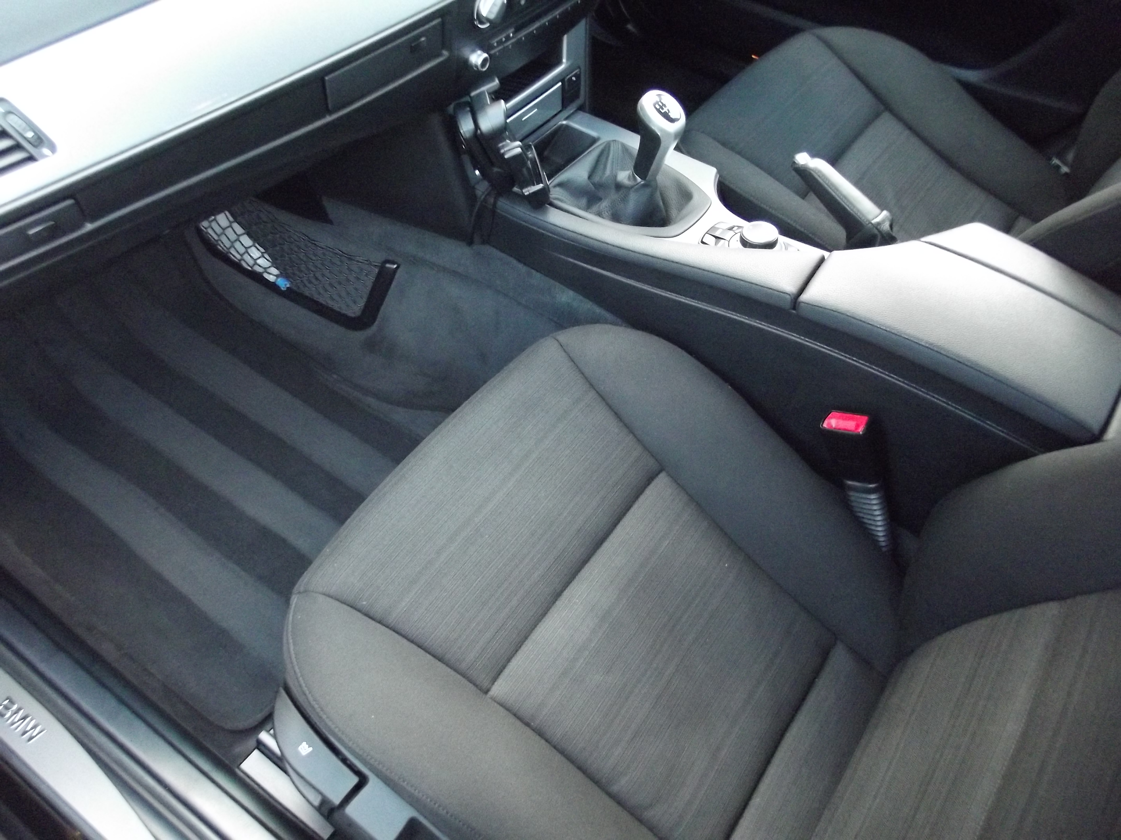Car Valeting BMW Interior